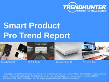 Smart Product Trend Report and Smart Product Market Research
