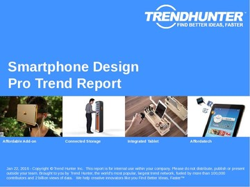 Smartphone Design Trend Report and Smartphone Design Market Research