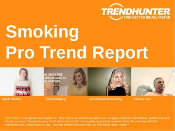 Smoking Trend Report and Smoking Market Research