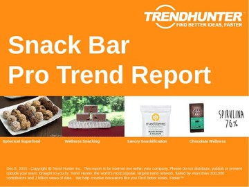 Snack Bar Trend Report and Snack Bar Market Research