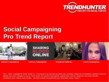Social Campaigning Trend Report and Social Campaigning Market Research