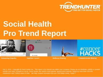 Social Health Trend Report and Social Health Market Research