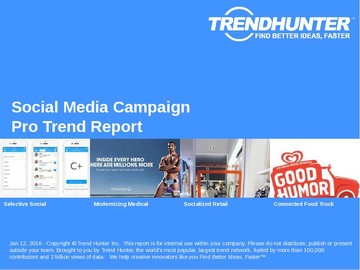 Social Media Campaign Trend Report and Social Media Campaign Market Research