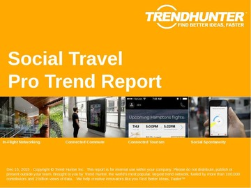 Social Travel Trend Report and Social Travel Market Research