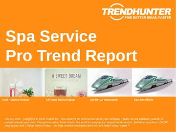 Spa Service Trend Report and Spa Service Market Research