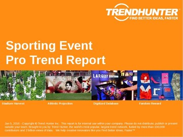 Sporting Event Trend Report and Sporting Event Market Research