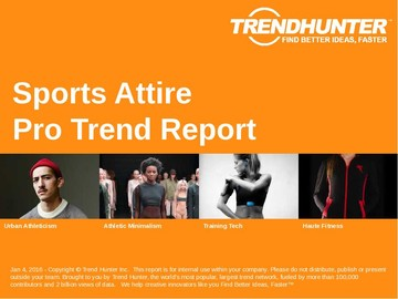 Sports Attire Trend Report and Sports Attire Market Research