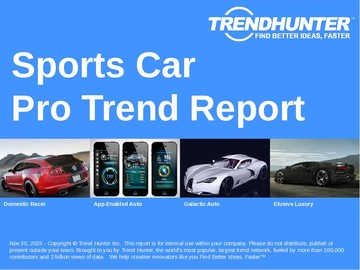 Sports Car Trend Report and Sports Car Market Research