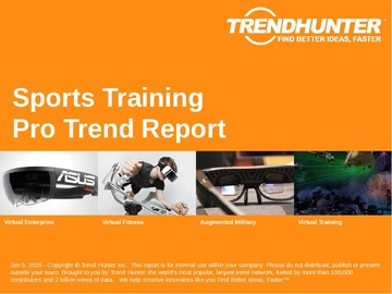 Sports Training Trend Report and Sports Training Market Research