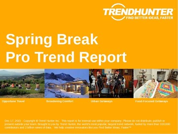 Spring Break Trend Report and Spring Break Market Research
