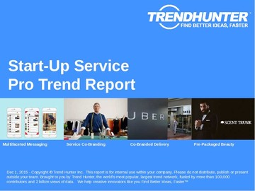 Start-Up Service Trend Report and Start-Up Service Market Research