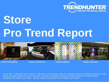 Store Trend Report and Store Market Research