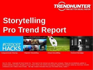 Storytelling Trend Report and Storytelling Market Research