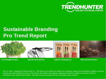 Sustainable Branding Trend Report and Sustainable Branding Market Research