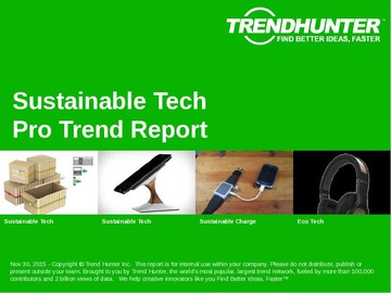 Sustainable Tech Trend Report and Sustainable Tech Market Research