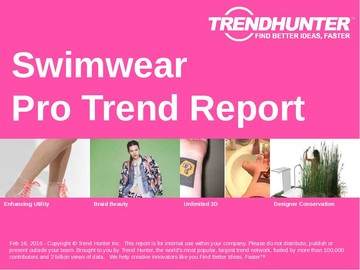 Swimwear Trend Report and Swimwear Market Research