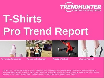 T-Shirts Trend Report and T-Shirts Market Research
