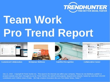 Team Work Trend Report and Team Work Market Research