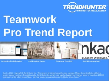 Teamwork Trend Report and Teamwork Market Research
