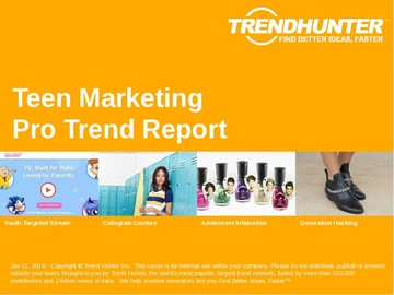 Teen Marketing Trend Report and Teen Marketing Market Research