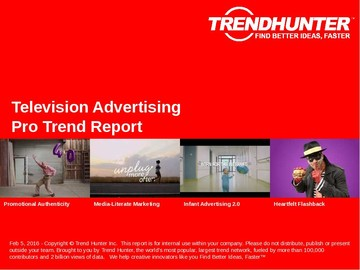 Television Advertising Trend Report and Television Advertising Market Research