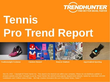 Tennis Trend Report and Tennis Market Research