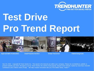 Test Drive Trend Report and Test Drive Market Research