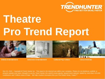 Theatre Trend Report and Theatre Market Research