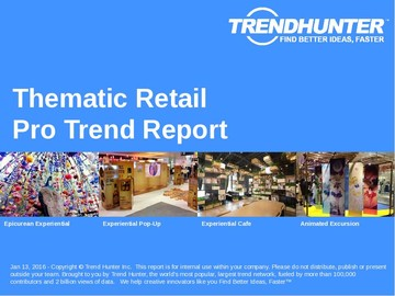 Thematic Retail Trend Report and Thematic Retail Market Research