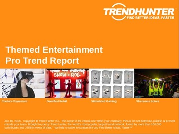 Themed Entertainment Trend Report and Themed Entertainment Market Research