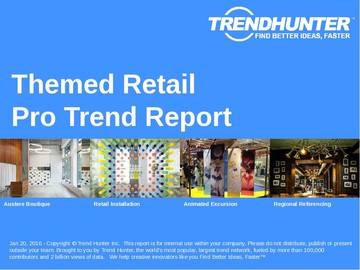 Themed Retail Trend Report and Themed Retail Market Research