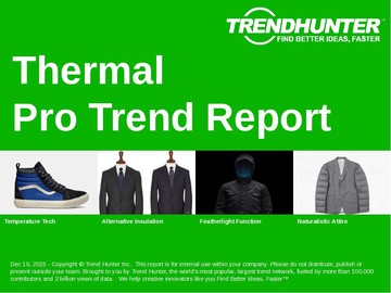 Thermal Trend Report and Thermal Market Research
