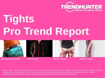 Tights Trend Report and Tights Market Research