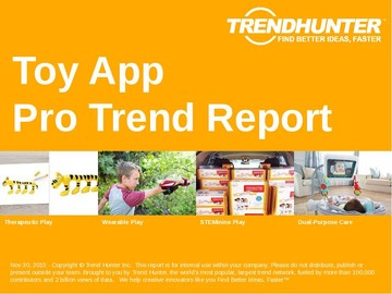 Toy App Trend Report and Toy App Market Research