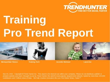 Training Trend Report and Training Market Research