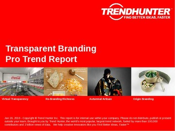 Transparent Branding Trend Report and Transparent Branding Market Research