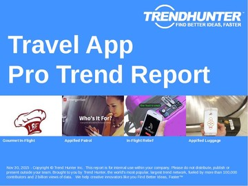 Travel App Trend Report and Travel App Market Research