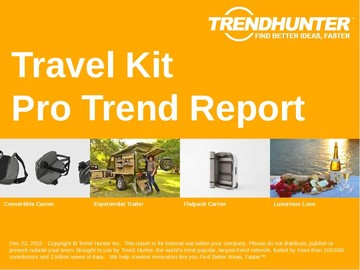 Travel Kit Trend Report and Travel Kit Market Research
