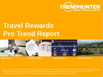Travel Rewards Trend Report and Travel Rewards Market Research