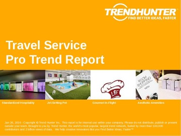 Travel Service Trend Report and Travel Service Market Research