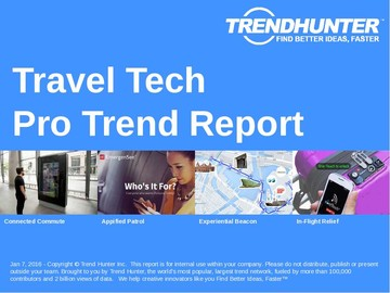 Travel Tech Trend Report and Travel Tech Market Research