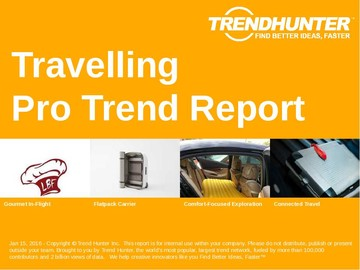 Travelling Trend Report and Travelling Market Research