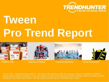 Tween Trend Report and Tween Market Research