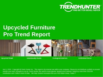 Upcycled Furniture Trend Report and Upcycled Furniture Market Research