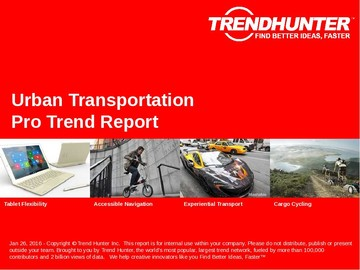 Urban Transportation Trend Report and Urban Transportation Market Research