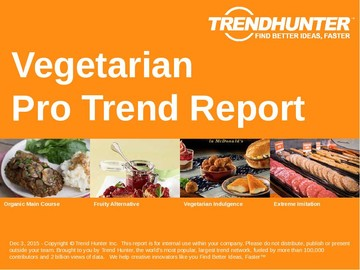 Vegetarian Trend Report and Vegetarian Market Research