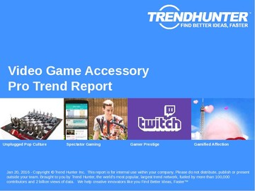 Video Game Accessory Trend Report and Video Game Accessory Market Research