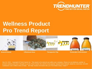 Wellness Product Trend Report and Wellness Product Market Research