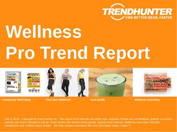 Wellness Trend Report and Wellness Market Research