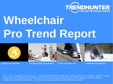 Wheelchair Trend Report and Wheelchair Market Research
